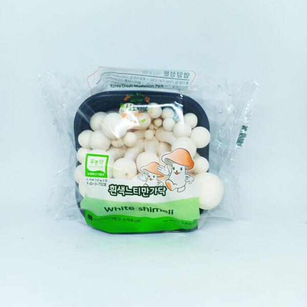 nấm lịnh chi trắng Hàn Quốc
