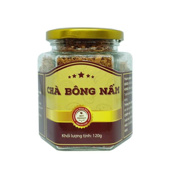 Chà Bông Nấm Hương Chay 2