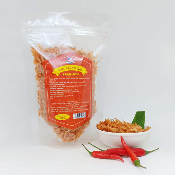 ruốc sấy (tép rim) ăn liền Thái Bình