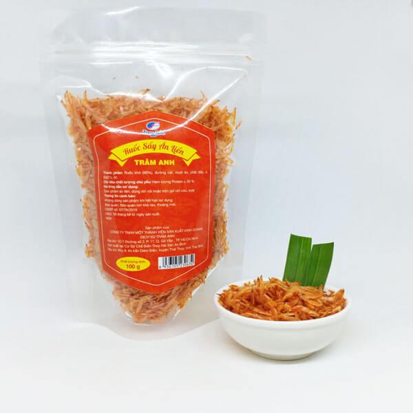 ruốc sấy (tép sấy) ăn liền Thái Bình