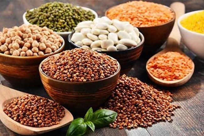 Ngũ cốc bao gồm nhiều các loại hạt
