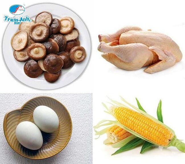 Nguyên liệu cho món ăn