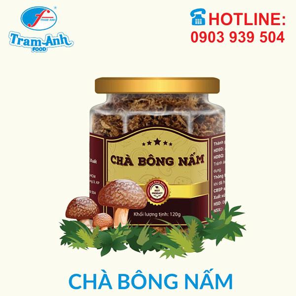Chà bông Nấm Hương